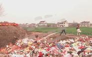 泰兴对废旧烟花爆竹进行销毁 共7吨