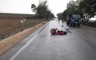 男子驾驶二轮电动自行车发生交通事故死亡