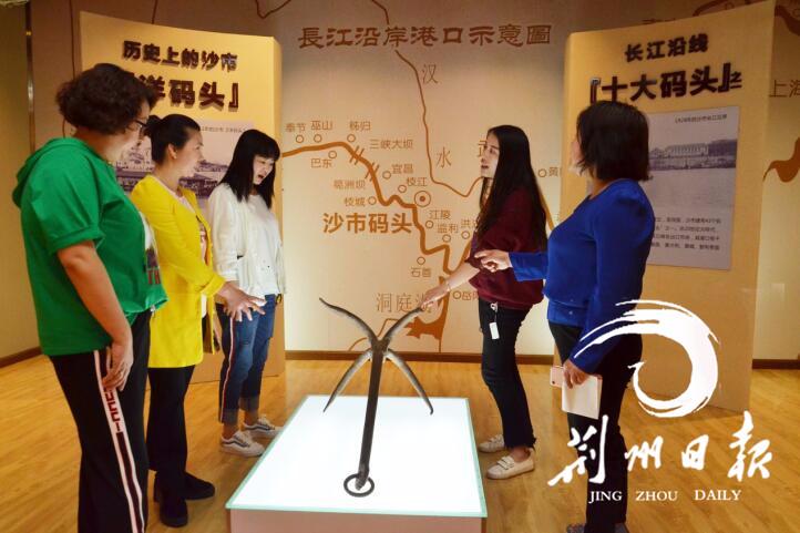 荆州有个码头文化馆,你去过没?地址就在……