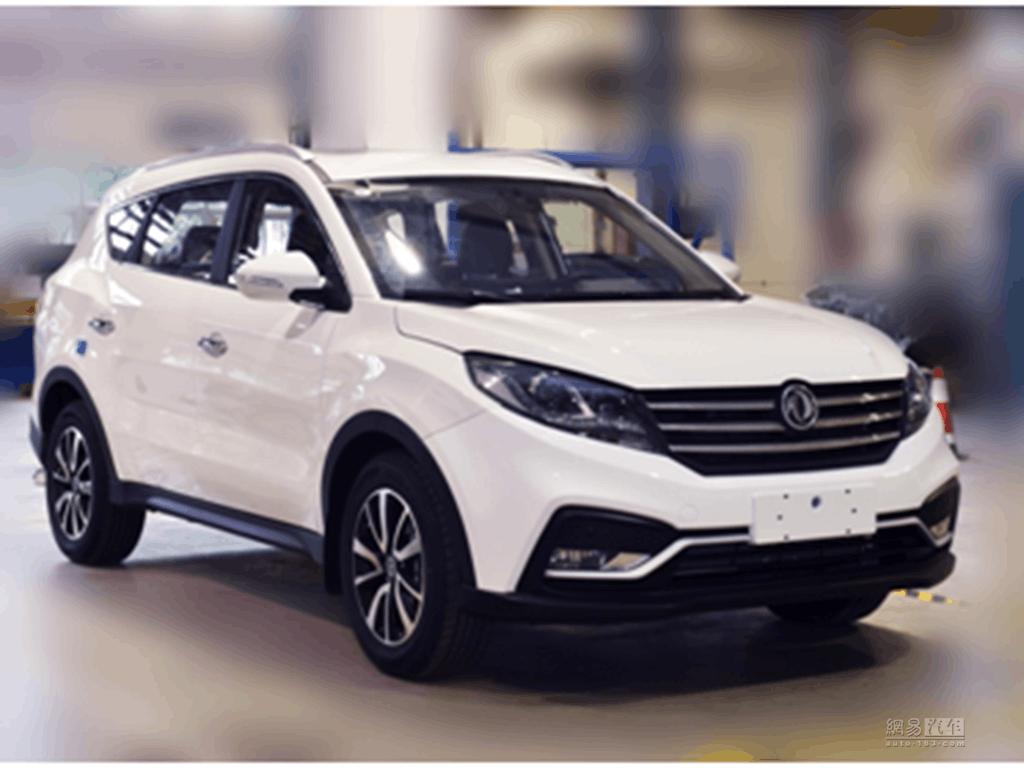 将于上海车展亮相 风光580新款车型谍照