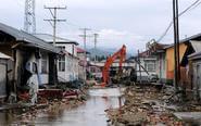 黑龙江多个村庄遭暴雨袭击