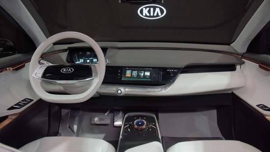 黑科技是主打 起亚Niro EV概念车发布