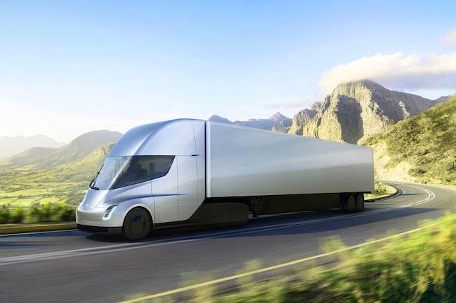 特斯拉将与Semi客户共建电动卡车充电站