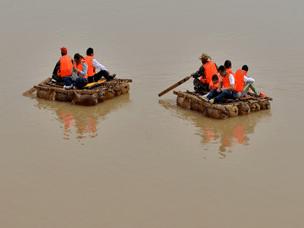 3月16日 山西芮城大禹渡羊皮筏子狂欢节不见不散