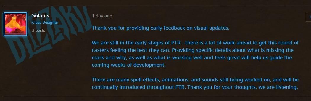 魔兽7.3蓝贴:将更新多个职业的技能视觉效果