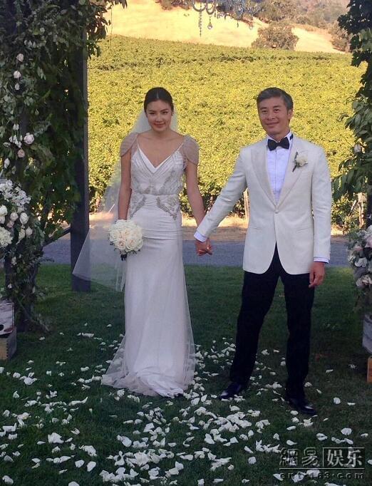 黎明前妻乐基儿再婚 美国举行甜蜜婚礼