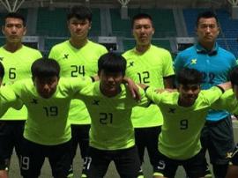 太原理工大学队获得中国大学生足球联赛冠军