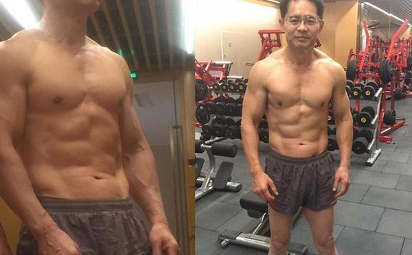 杨幂61岁大伯是肌肉猛男