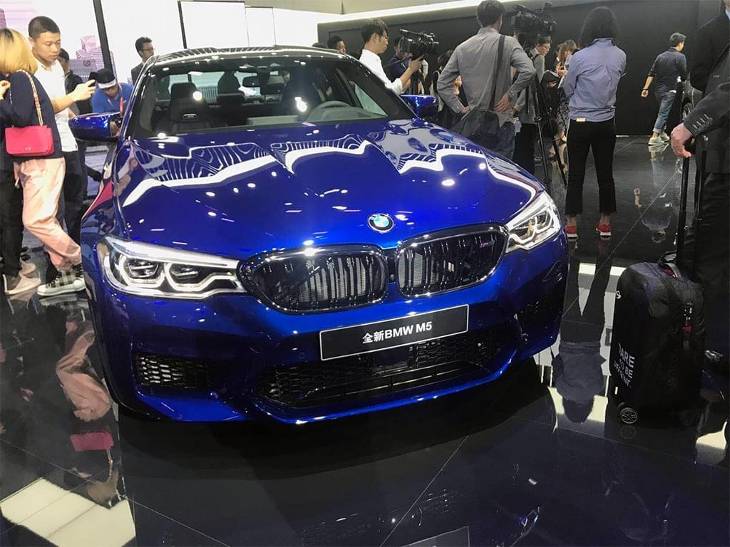 3.4秒破百 宝马全新M5广州车展国内首秀