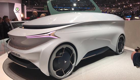 五级自动驾驶 Icona Nucleus概念车发布