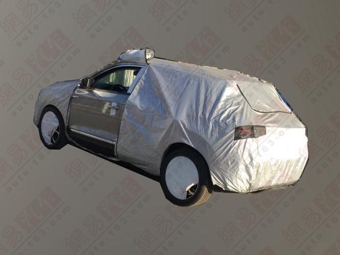 今年7月上市 一汽-大众T-ROC量产路试车曝光