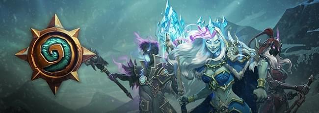 """炉边闲谈:炉石""""冰封王座的骑士""""英雄卡牌"""
