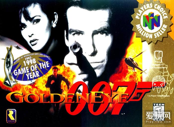 《黄金眼007》和其800万销量被记录游戏发展历史中,后来还被老任和动视重制过好几个版本
