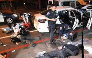 台湾高雄枪战警方连开22枪