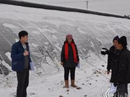 运城市农委采取措施应对大雪降温