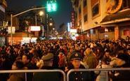 上海元宵灯会千名警力出动