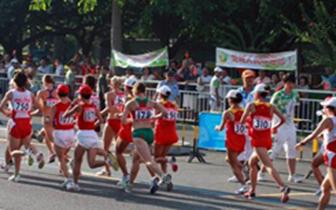 城2018万步有约暨第二届微型马拉松比赛激情开跑