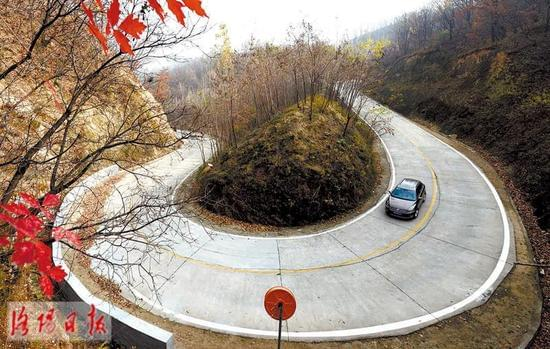 嵩县:美丽山路 助力致富