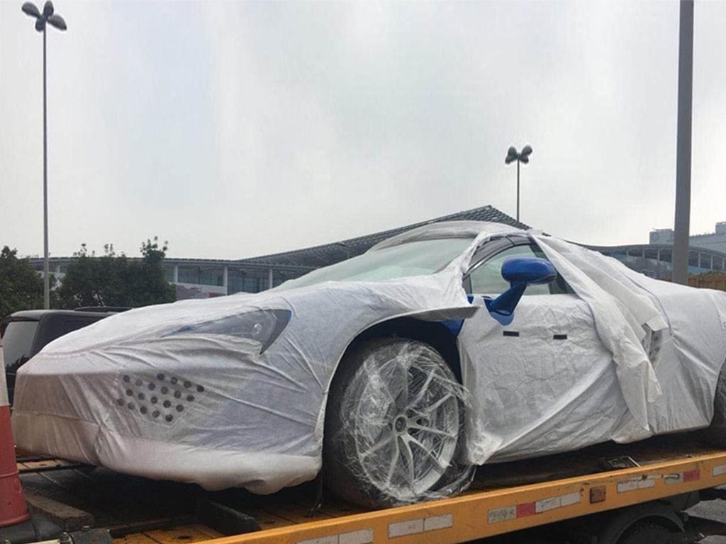预售330万 迈凯伦570S敞篷版展前现身