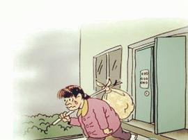 女子不堪丈夫家暴 离家出走高速落难