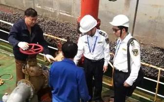 防城港圆满完成油船和散装化学品船专项整治活动
