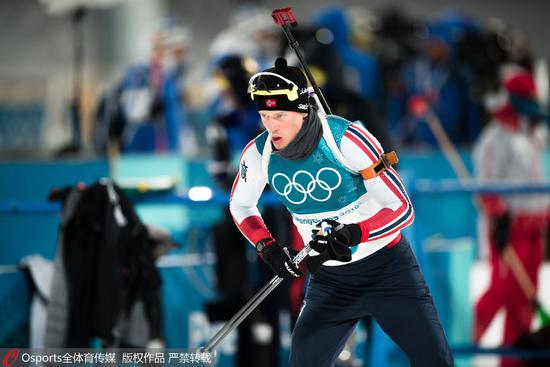 第3金!冬季两项男子12.5公里法国名将摘金