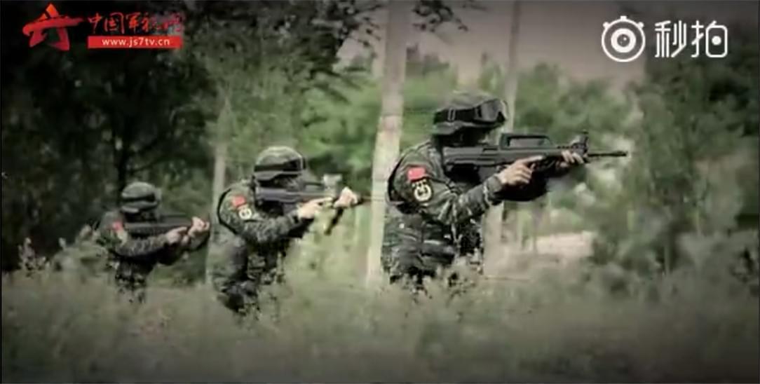 中国武警征兵宣传片震撼到我了