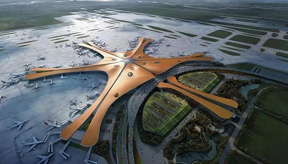 资料图:北京新机场