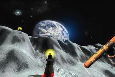 VR设备助力化身宇航员探索月球