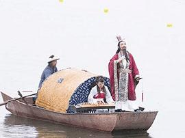 龙舟竞渡粽飘香  风雅端午游龙亭