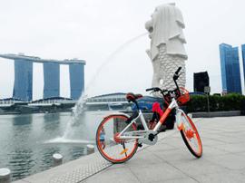 摩拜单车新加坡正式运营,开启海外扩展新篇章