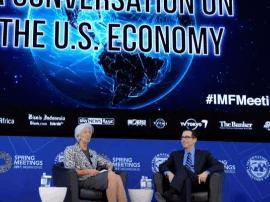 """美国财长:美国追求""""对等""""自由贸易"""