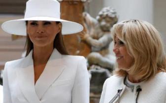 法第一夫人称同情特朗普妻子:她被束缚在白宫里