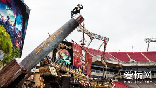 《盗贼之海》发射真人大炮 创造全新吉尼斯纪录