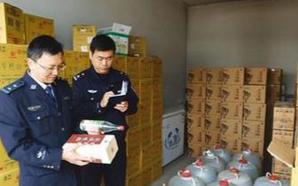 春节将至 邯郸食药监局严查制售假酒黑窝点