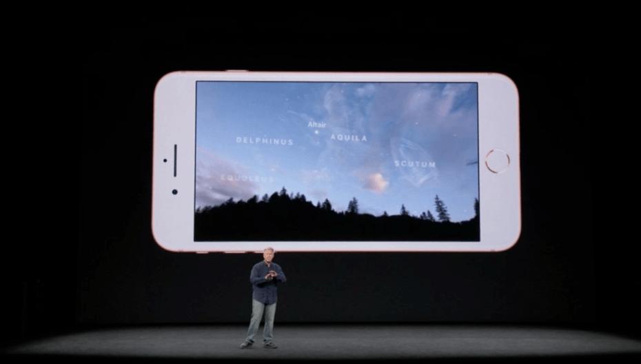苹果展示首批ARKit应用游戏 看星空告诉你啥星座