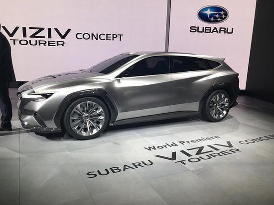 未来力狮的样子 斯巴鲁发布VIZIV概念车