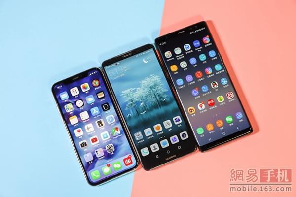 iPhoneX/Note8/Mate10 Pro横评:谁最强?(组图)