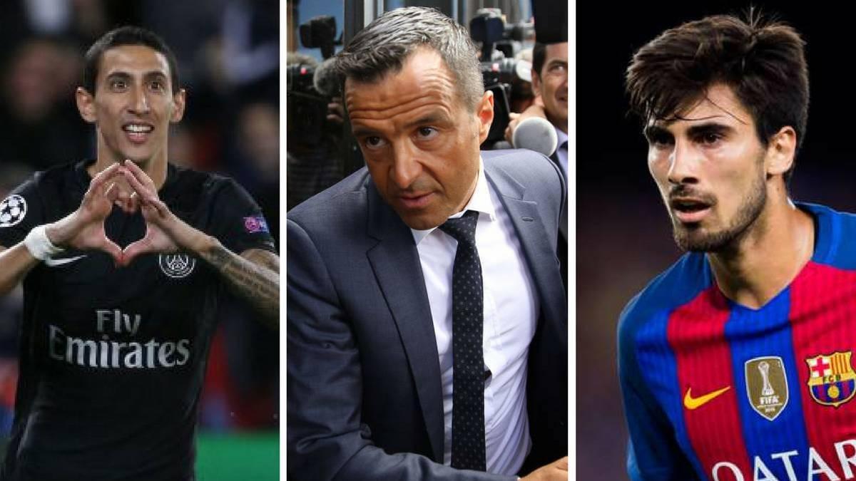 门德斯现身巴塞罗那推销天使 巴萨高层:再签1-2人