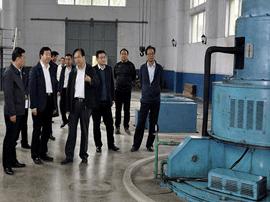 运城市水务局局长靳虎刚调研永济水利工作