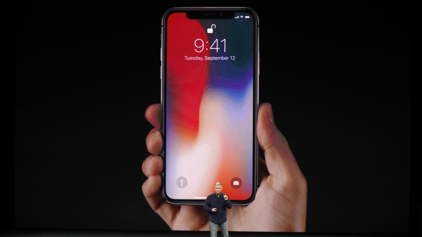分析师再次下调iPhoneX今年出货预期:至3600万台