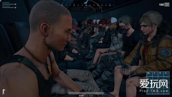 玩家在飞机内可以用第一视角看见别的玩家