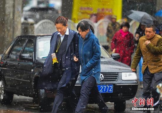 北方降温超10℃ 哈尔滨长春或迎今冬初雪