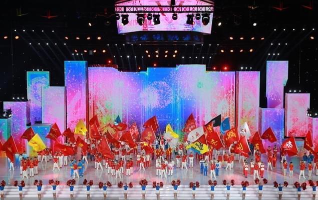 第13届全运会闭幕式 总理李克强出席