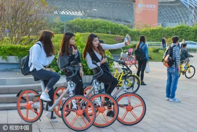 价格秒杀摩拜ofo:这种单车一辆八千 却是政府买单