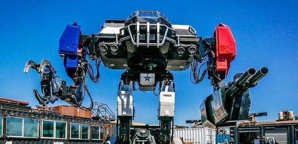 美日机器人大战落下帷幕 机甲对决美国获胜