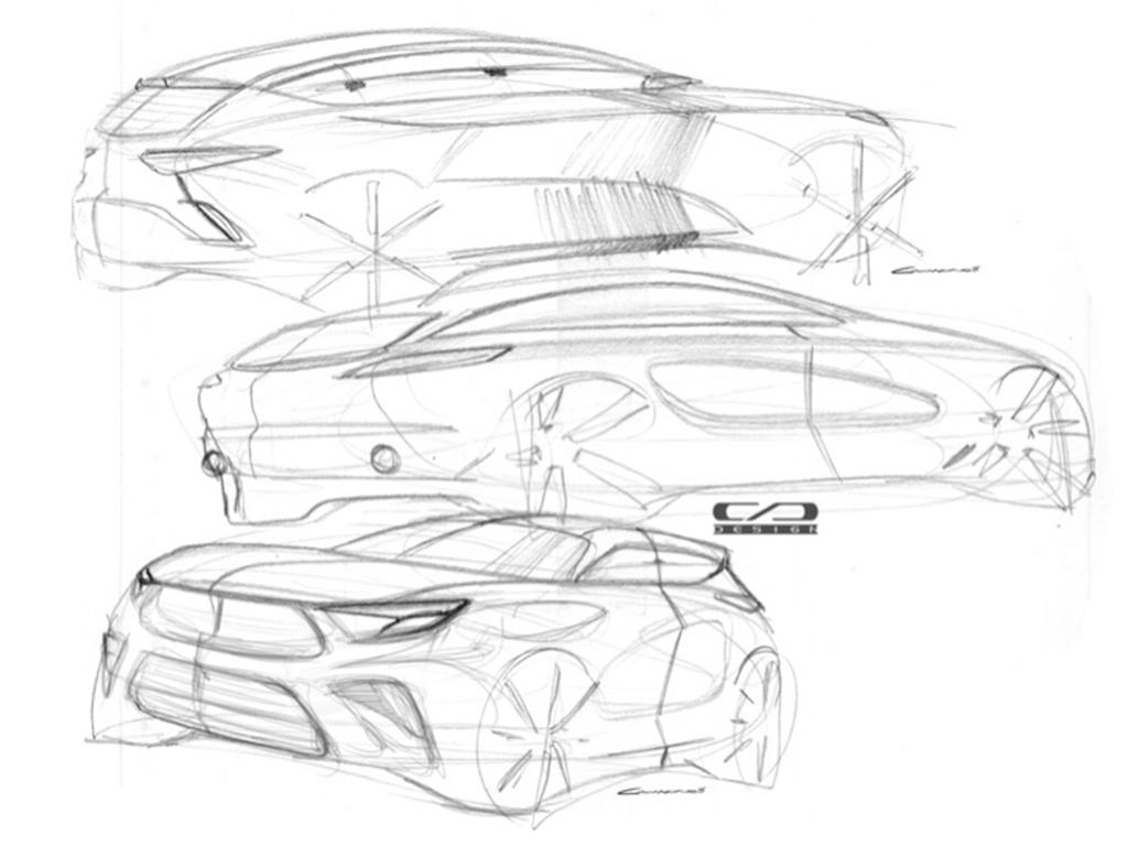 代号V302 长安欧尚全新SUV设计图曝光