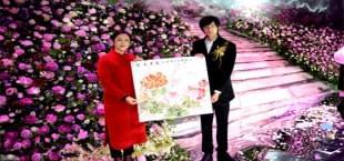 牡丹主题婚礼亮相洛城