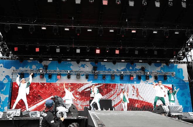 日本夏季音乐节a-nation圆满落幕 滨崎 步AAA悉数登场