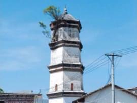 400年的历史古塔 风雨华表塔见证沧海桑田